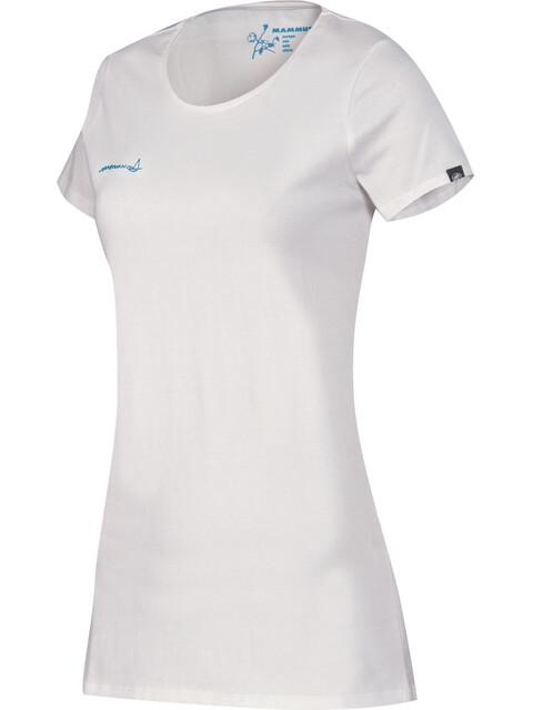 Mammut W's Logo T-Shirt white-cyan